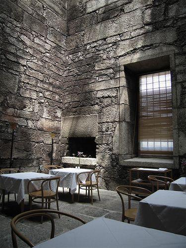 restaurant in old convent kitchen |Eduardo Souto de Moura, photo by dianavieira, via Flickr