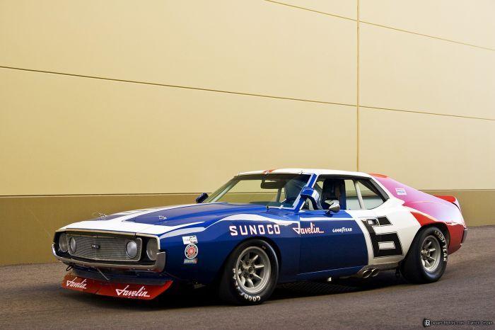1971 Trans Am...the race, but still a cool car--AMC Javelin