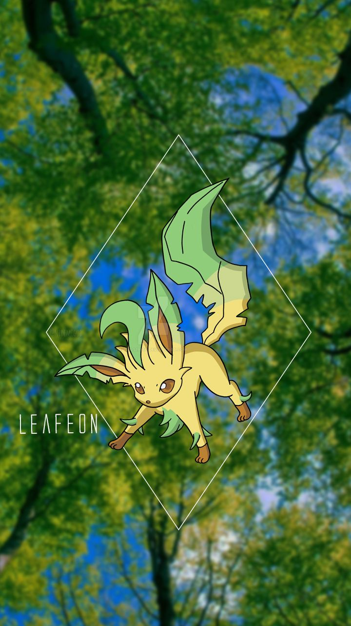 Wallpaper Leafeon