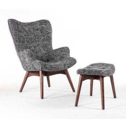 Designed in 1951 by Hans J. Wegner, the Olsen Lounge Chair was originally…