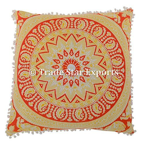26 X 26 Mandala Euro Sham, Indian ethnic Pillow Case, Pai... https://www.amazon.com/dp/B079TQCN7X/ref=cm_sw_r_pi_dp_U_x_bSQIAb9KS4ZTH