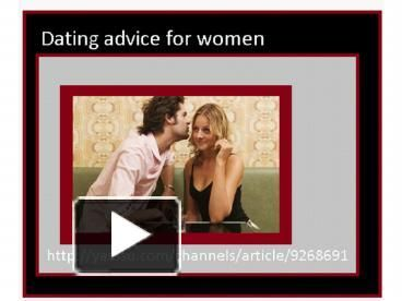 Pre dating tips