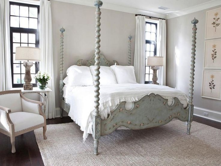 26 Rustic Canopy Bed Design Ideas From Wood