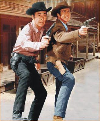 Barry Sullivan TV Western   Barry Sullivan e Clu Gulagher