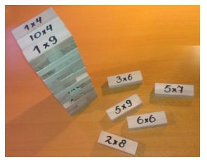 Tafeltjesjenga, handige en leuke manier om de tafeltjes te automatiseren