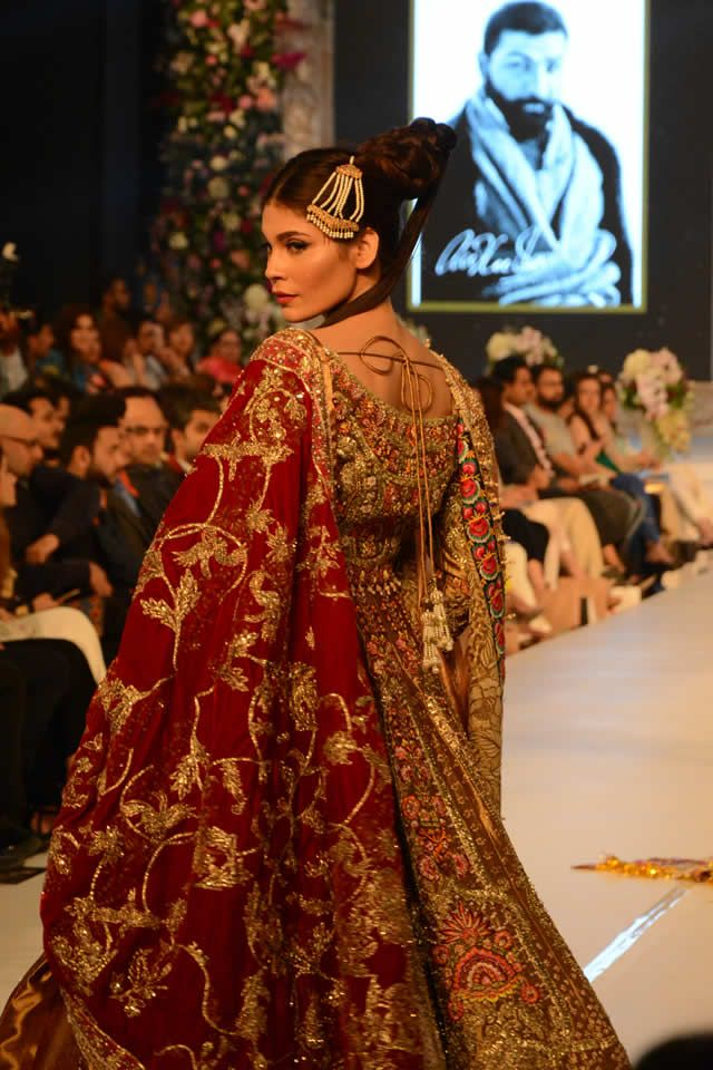 PFDC LOreal Paris Bridal Week 2015 Ali Xeeshan Collection