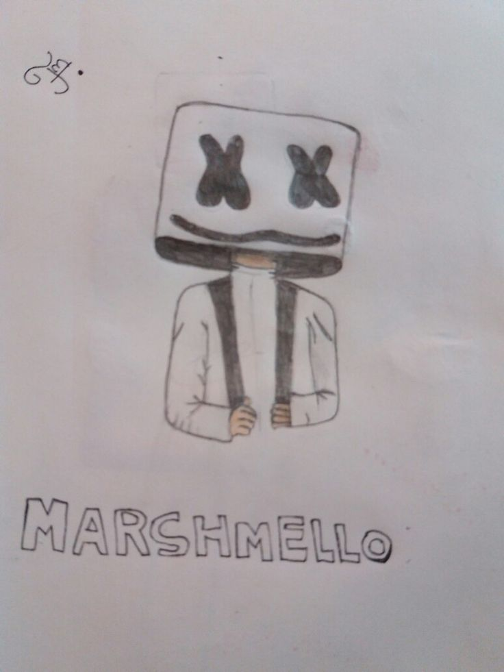MARSHMELLO.....my drawing....❤