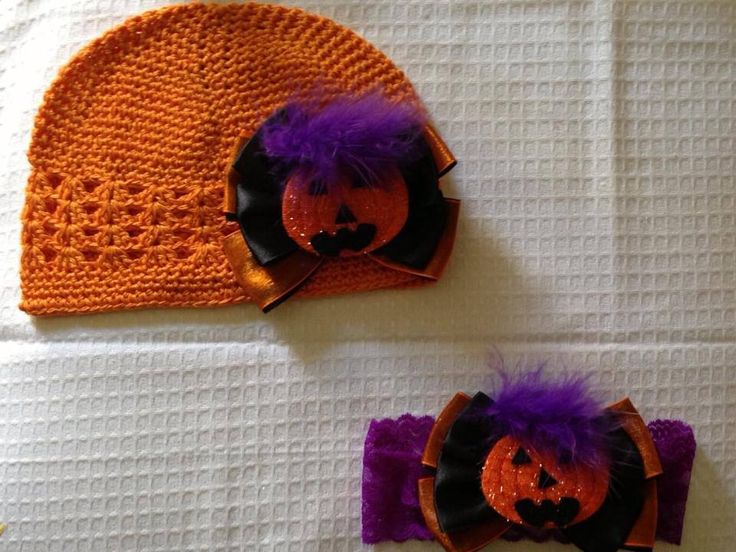 Halloween hat and headband set - MSG if interested :)