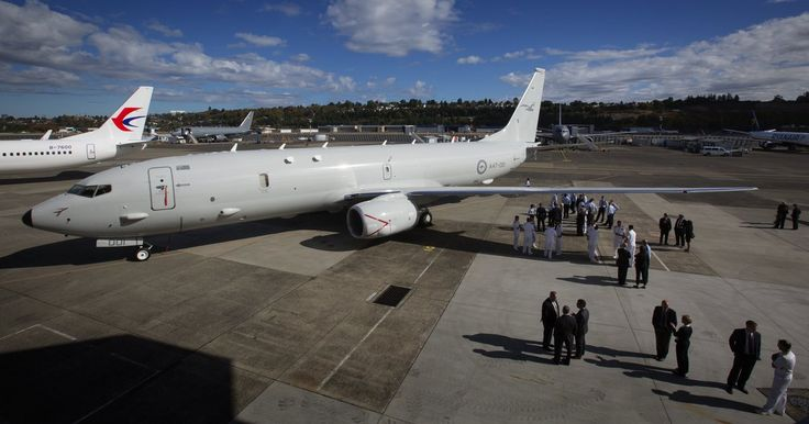 Boeing rolled out the Royal Australian Air Force's first P-8 Poseidon anti-submarine aircraft Tuesday. The plane — a rare military-procurement program delivering on time and under budget — is already in service with both the U.S. Navy and the Indian Navy.