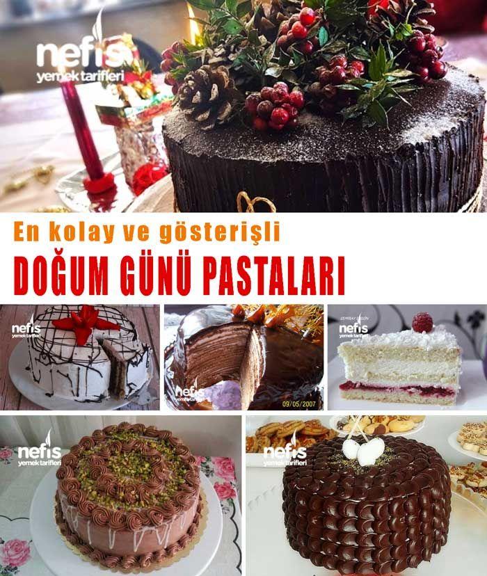 Kolay ve Gösterişli Doğum Günü Pastaları Tarifleri - Nefis Yemek Tarifleri