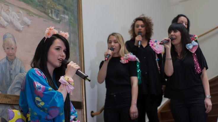 Jamie-Lee singt in der deutschen Botschaft in Stockholm. © NDR Fotograf: Rolf Klatt