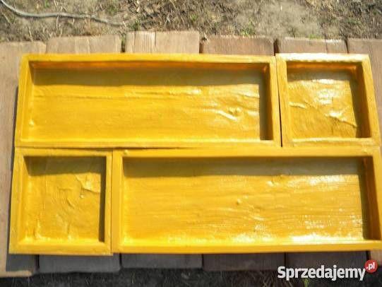 forma do betonu na drewno betonowe deska Dom i Ogród sprzedam