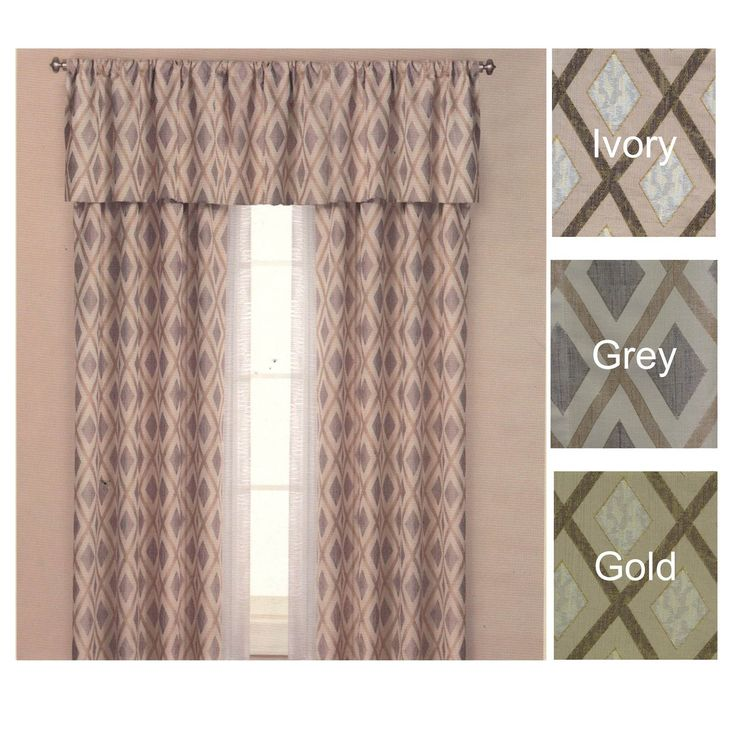 25 best ideas about panel curtains on pinterest window curtain designs living room curtains for Lined valances for living room