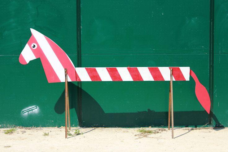 """street art by Pao. """"Zebra"""". 2013. Milano http://restreet.altervista.org/angoli-desolati-del-panorama-cittadino-diventano-piccole-isole-di-colore/"""