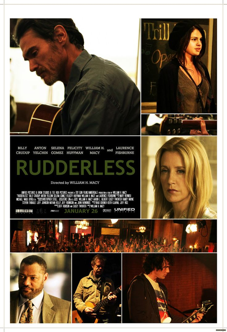 Rudderless- powerful expiring movie!!!!! I won't give away the surprise plot twist but it is so good. Very sad but the story was amazing, the acting incredible and overall an amazing film. Bravo!!!!