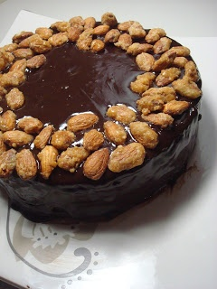 More than Words: Dark Chocolate and Almond Torte