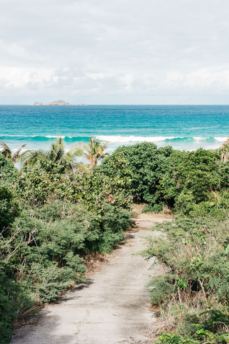 The beauty of the French West Indies.