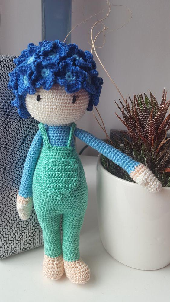 Zabbez Crochet Patterns : ... zabbez com daffodil nancy flower doll made by marta o crochet pattern