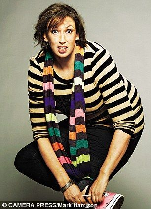 "Miranda Hart is known as the ""female Eric Morecambe"".- She would be SO happy to be known as that- Morecambe and Wise were her inspiration!"