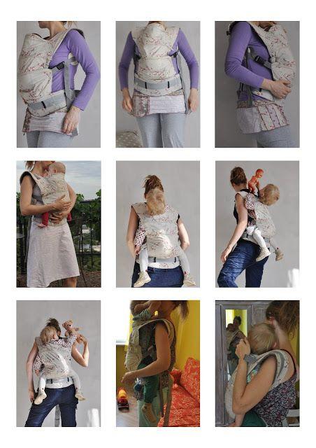 Šije to se mnou: Návod na ergonomické nosítko ala Manduca s novorozeneckou vložkou