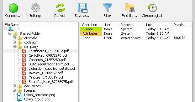 Το SoftPerfect File Access Monitor είναι ένα πολύ χρήσιμο εργαλείο που μπορεί να παρακολουθεί την πρόσβαση στα αρχεία σας και παρέχει λεπτομέρειες του ιστορικό τους. Μπορεί να χρησιμοποιηθεί σε ένα διακομιστή αρχείων για την παρακολούθηση της δραστηριότητας των χρηστών του δικτύου καθώς και σε έναν τοπικό υπολογιστή όπου θα παρακολουθεί τους τοπικούς χρήστες έτσι κάθε φορά που ένα αρχείο έχει δημιουργηθεί μεταβληθεί ή διαγραφεί όλες αυτές οι κινήσεις θα αποθηκευτούν σε μια βάση δεδομένων…