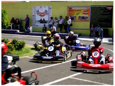 Kart 5HP (8 minutos) para 4 en Puebla