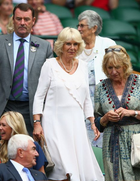 Camilla Parker Bowles Photos - Day Four: The Championships - Wimbledon 2015 - Zimbio
