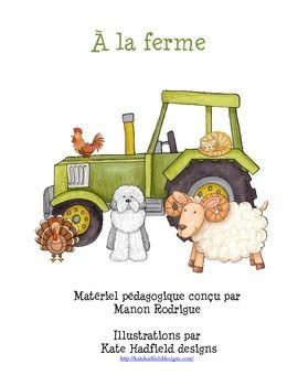 Matériel éducatif sur le thème de la ferme pour la pré maternelle, les enfants ayant un trouble du spectre de l'autisme et/ou une déficience intellectuelle. Vous trouverez dans ce document de 98 pages, des exercices portant sur le vocabulaire, le dénombrement, l'organisation spatiale, la motricité fine et plus encore.