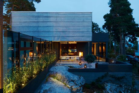 Modernt i Stockholms skärgård - Sköna hem