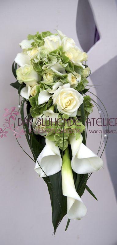 Brautstrauss Hangend For The Home Wedding Flowers Wedding