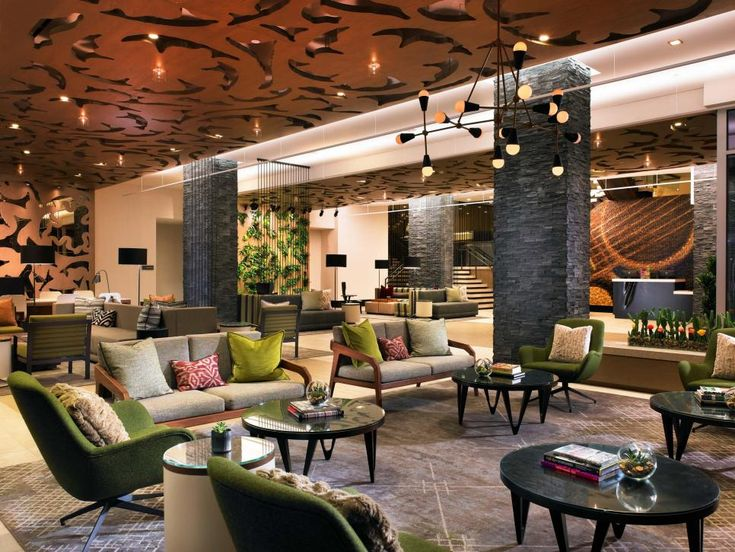 Find cool hotel lobbies to inspire your rooms and spaces with HGTV.com.