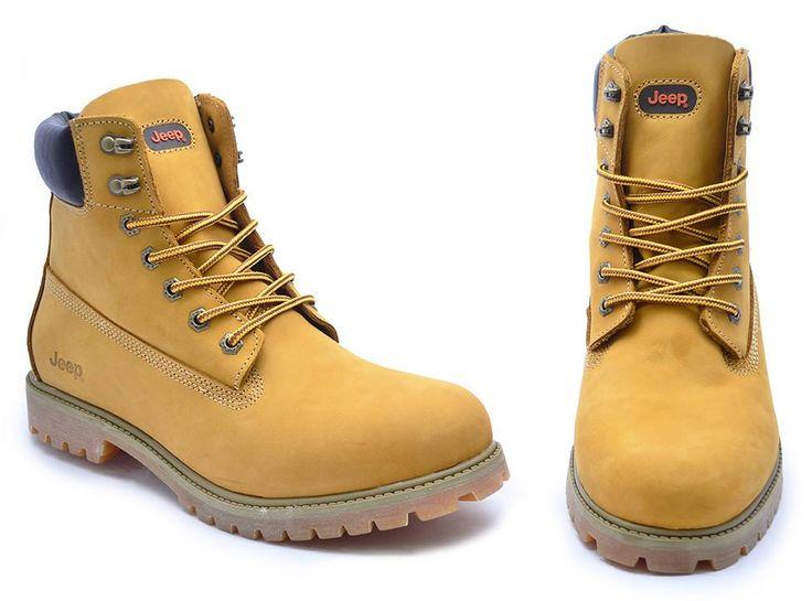 Jeep Gecko Boots Buffalo Yellow - Men's Boots | Shop Online ZA – The Footwear Warehouse