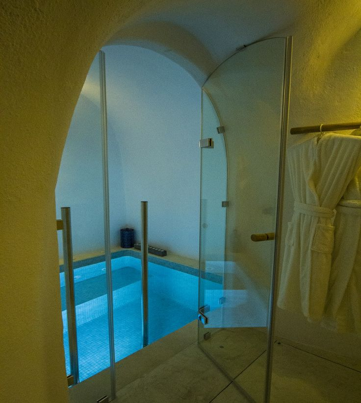 Soak off your worries in the private heated and jetted grotto pool of The Iconic Suite...