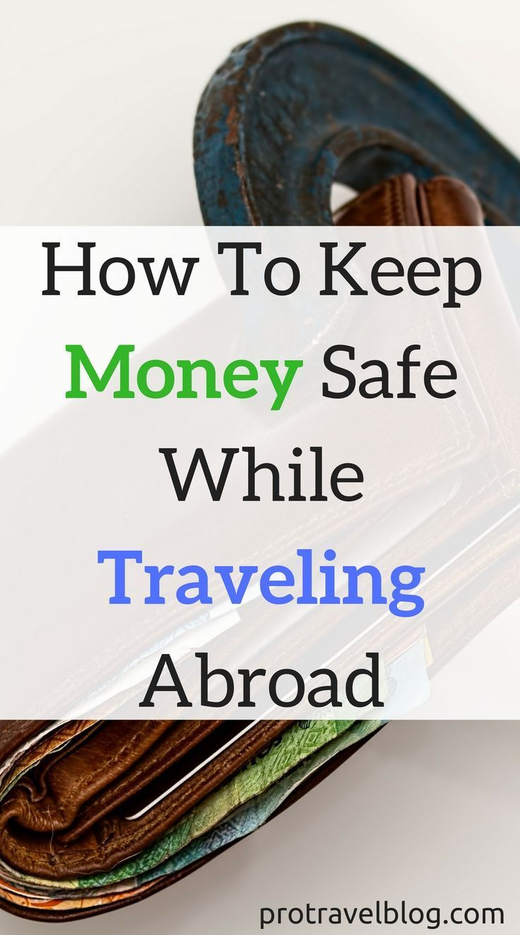 Never lose your money or get robbed while traveling! Here's 4 amazing ways to protect your money when you travel and keep your money safe from thieves!