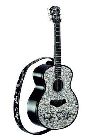 #swiftmaswishlist $20.95 Taylor Swift Guitar Long Live Musical Heirloom Ornament 2012
