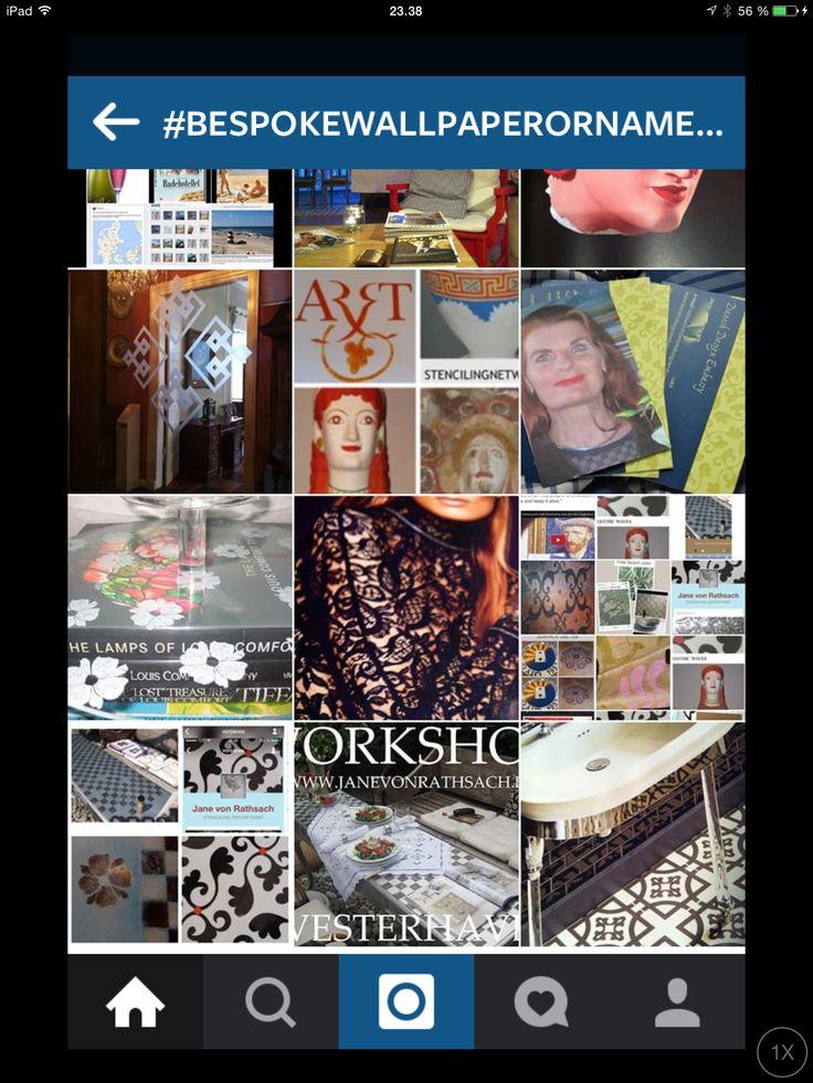 Wallpaper Nordic Antique von Rathsach