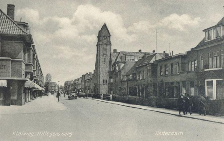 Kleiweg in de richting van de Straatweg