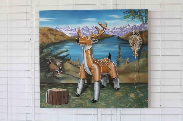 Life Identical To Natural 100cm x 110cm, olej, płótno 100cm x 110cm, oil, canvas