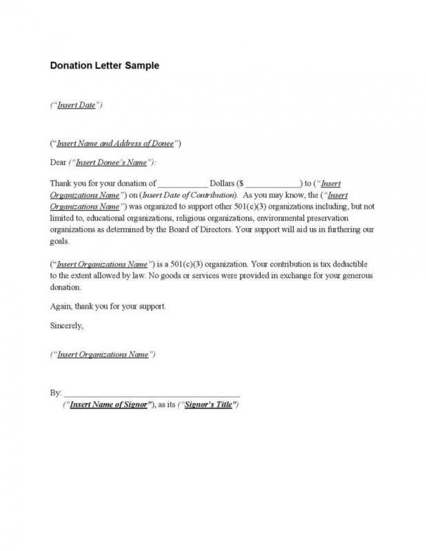 Donation Acknowledgement Letter Lettering Letter Templates