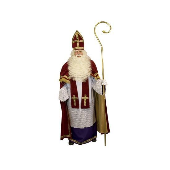 Compleet Sinterklaas kostuum bij Fun-en-Feest.nl. Online Sinterklaas kostuums bestellen, levering uit voorraad. Compleet Sinterklaas kostuum voor � 549.95.