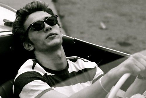 James Franco. I think he is brilliant. He is a superb actor and a James Dean look a like for our generation! LOVE him!