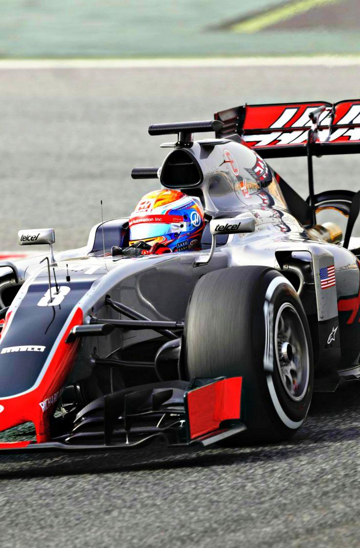 Romain Grosjean l Barcelona 2016