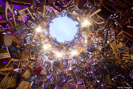 """""""Garden Tower"""" at Nuit Blanche in Toronto - via @HuffPost Arts"""