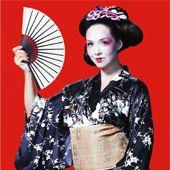 Black-Silk-Flower-Kimono