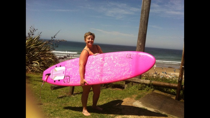 My first surf @ Gerroa