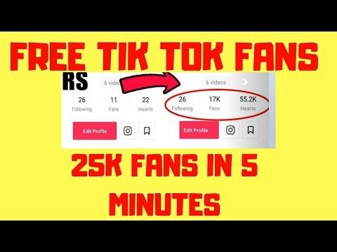 Free Tik Tok Fans How to Get Free Tik Tok Fans and Followers