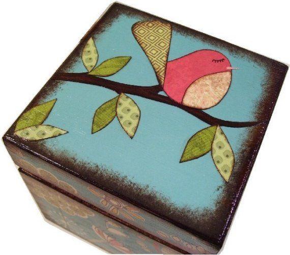 Keepsake Box Trinket Box Treasure Box Storage by GiftsAndTalents