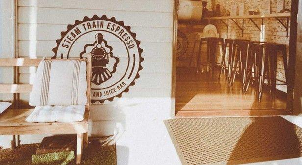 Climb aboard Steam Train Espresso in Red Hill