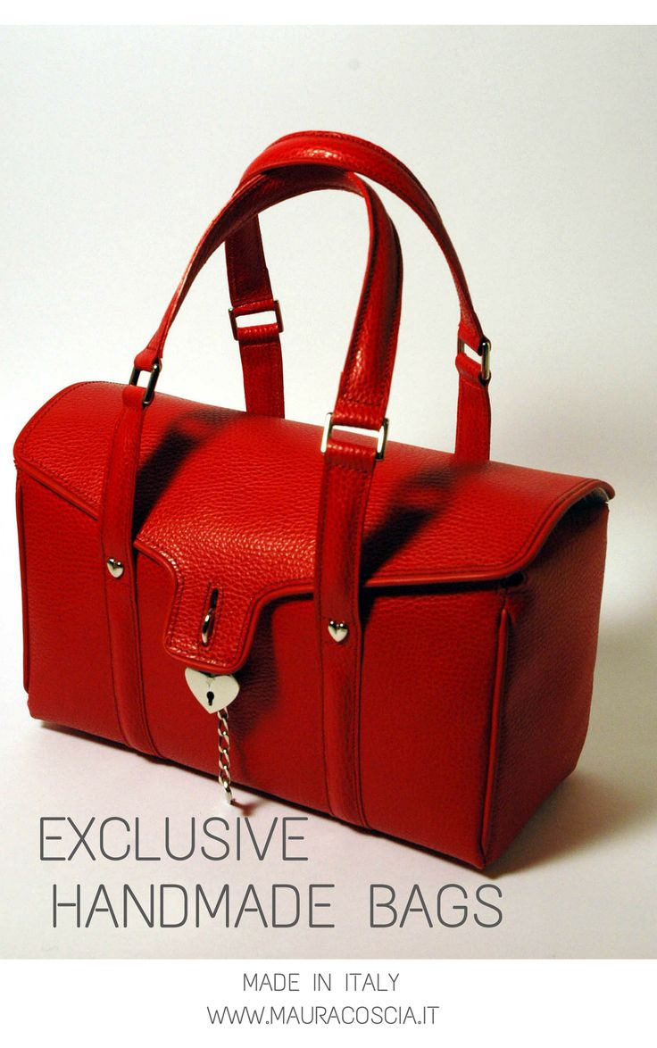 Exclusive Handmade Bags by Maura Coscia www.mauracoscia.it
