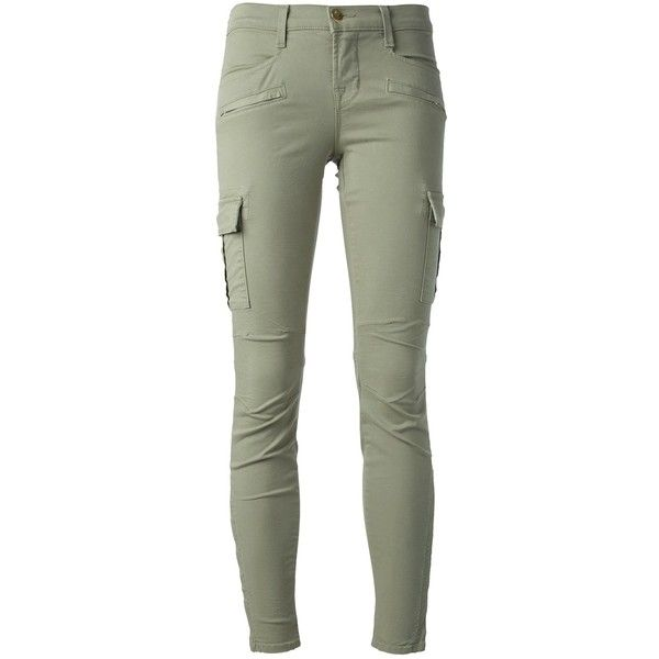 J Brand Cargo-Style Skinny Jean (4.920 UYU) ❤ liked on Polyvore featuring jeans, pants, bottoms, pantalones, green, green jeans, j brand jeans, green cargo skinny jeans, skinny jeans and cargo jeans